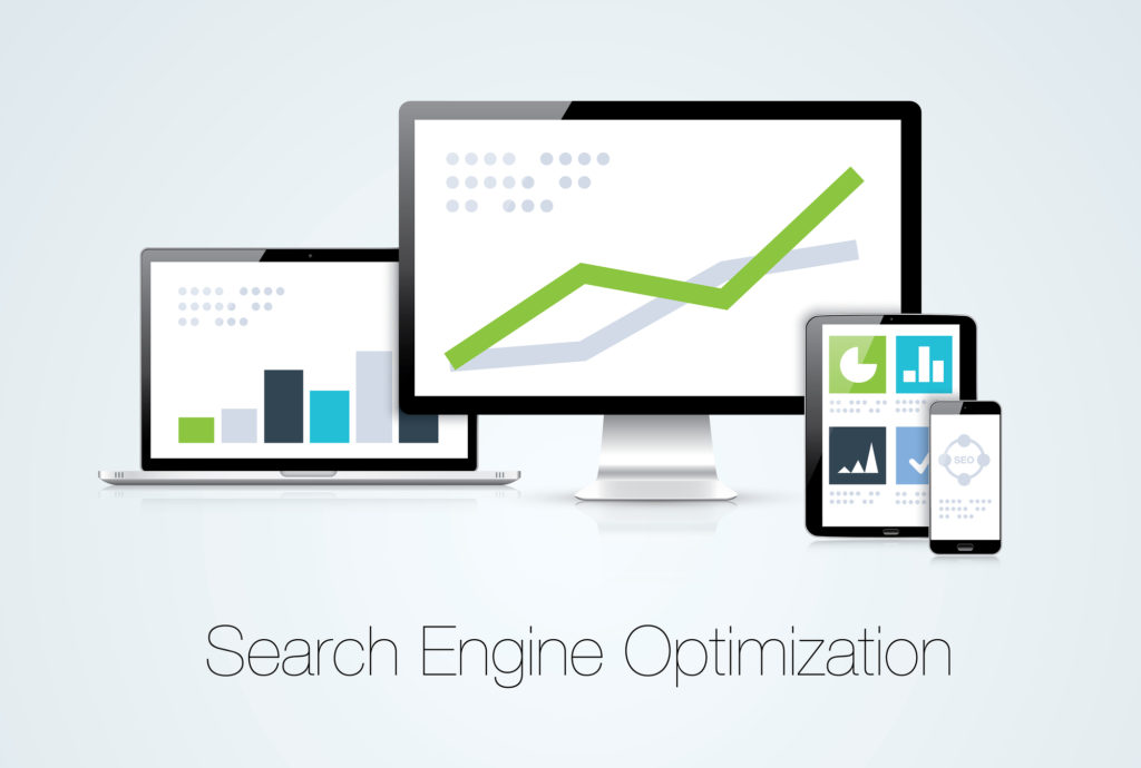 SEO Social Media Marketing Solutions Analytics Design